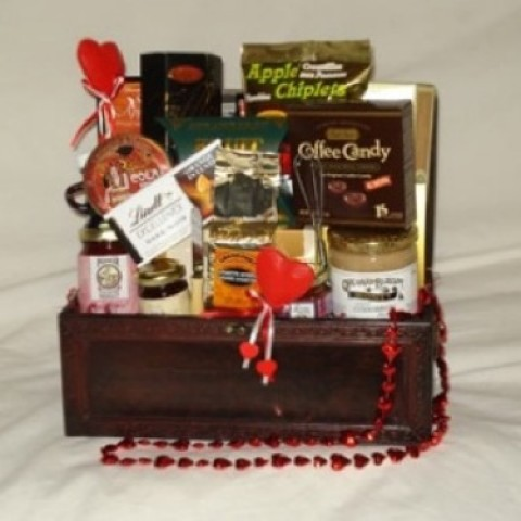 Chest of Treats Gourmet Gift Basket