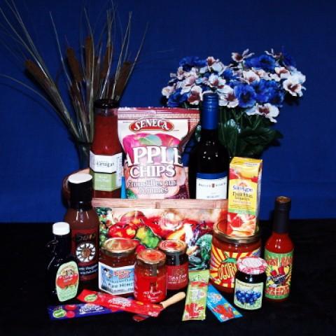 Large Okanagan Basket Gourmet Gift Basket