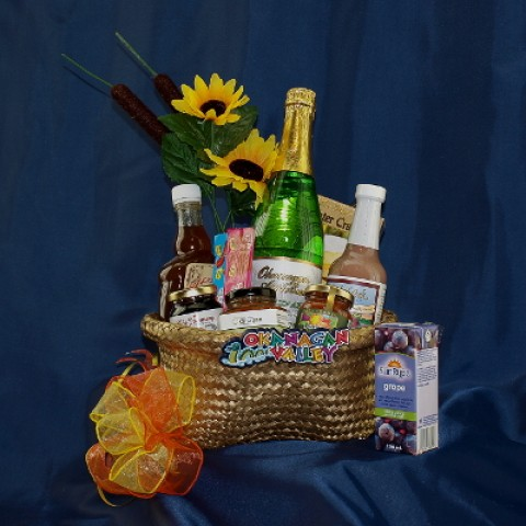 Medium Okanagan Basket Gourmet Gift Basket