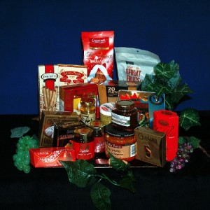 Sparkling Platter Gourmet Gift Basket
