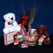 Teddy Bear Care Gift Basket